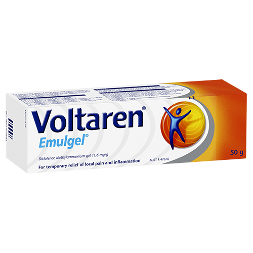 Voltaren Emulgel for Pain and Inflammation | Voltaren AU